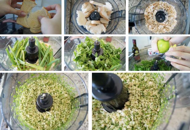 [Frango + purê] Preparação Empanado