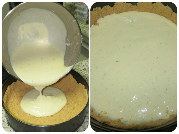 cheese cake massa + base