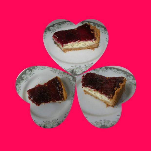 coracoes cheese cake