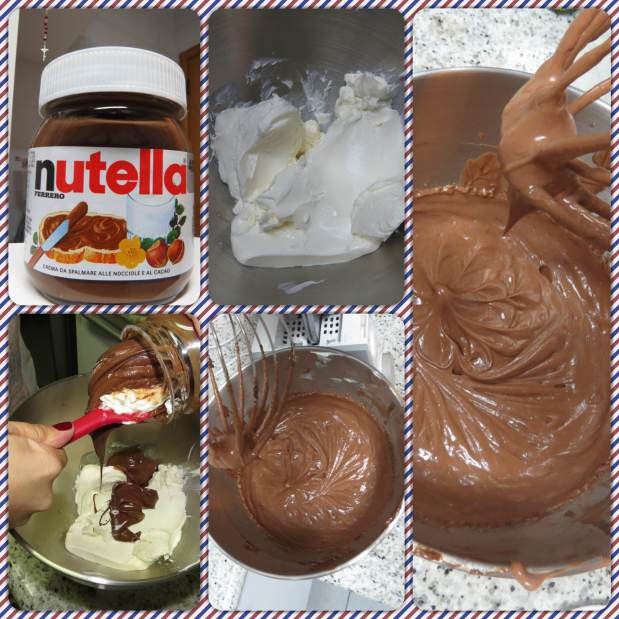 cheese cake nutella 1