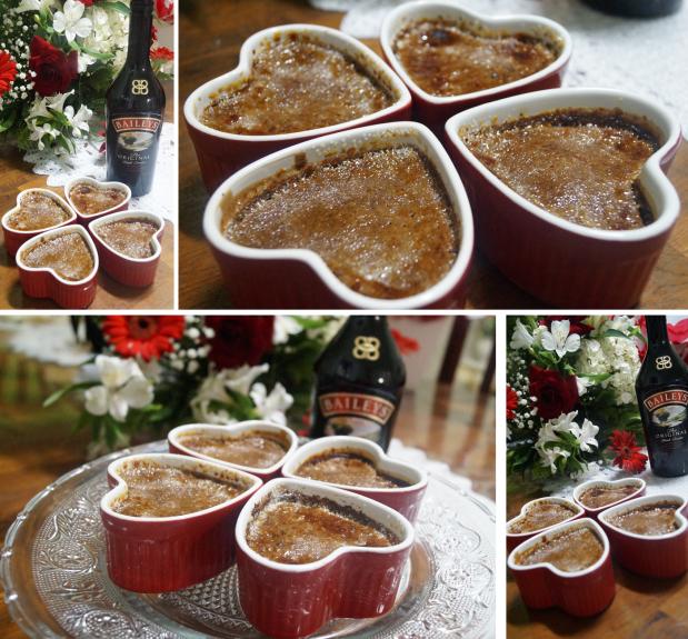 Creme Brulee Baileys - Fotos Finais