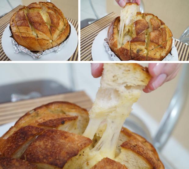 Pão de Alho com Queijo - Foto Final