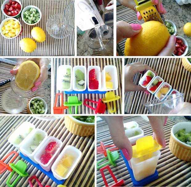 [Picolé de Água de Coco] Making